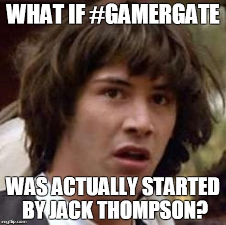 Conspiracy Keanu Gamergate by SuperAshBro