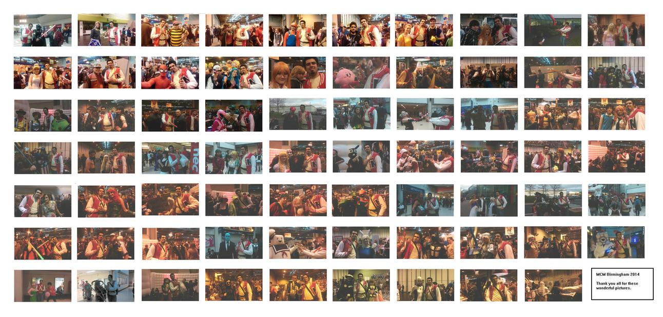 MCM Birmingham 2014 Collage by SuperAshBro