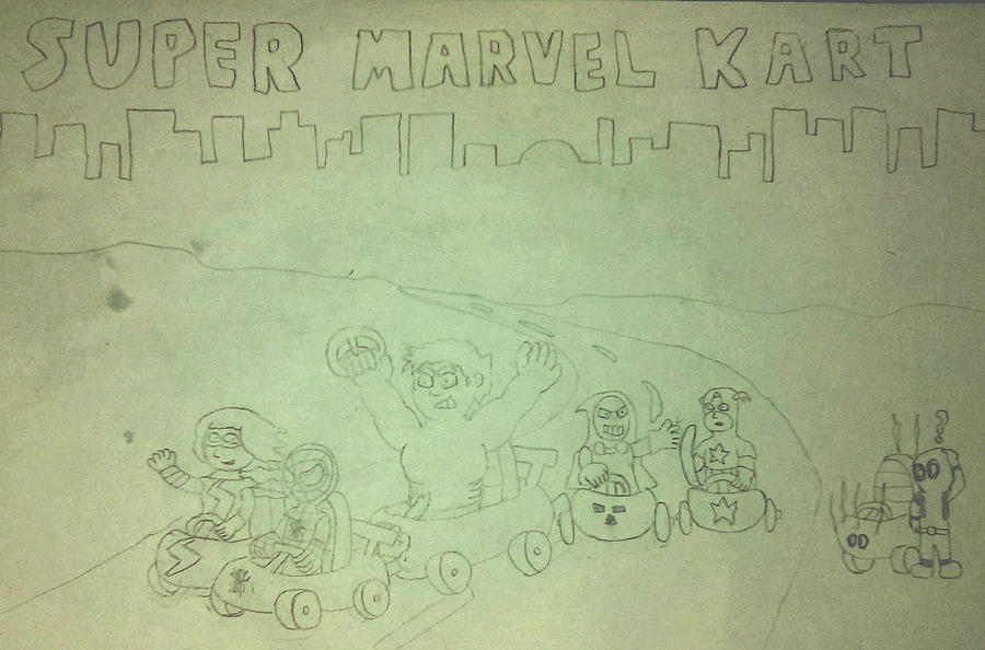 Super Marvel Kart by SuperAshBro