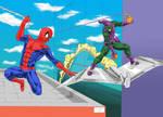 Spider Man VS Green Goblin