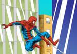 Spider Man webswing
