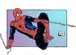 Spider Man color oldstyle by RoninGuthemDojo