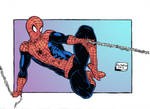 Spider Man color by RoninGuthemDojo