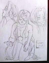 Fate Medusa plus three monkeys