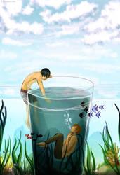 Free!: Glass of Water by Tishawish