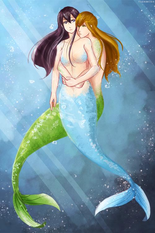 Free!: Mermaids Makoharu by Tishawish