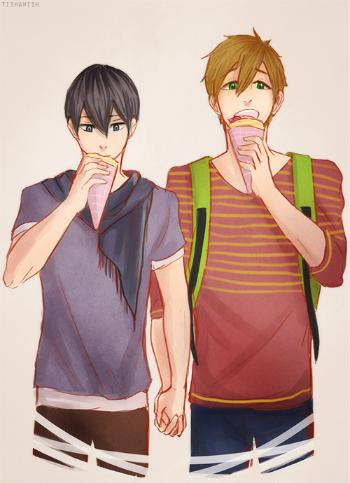 Free!: On A Date by Tishawish