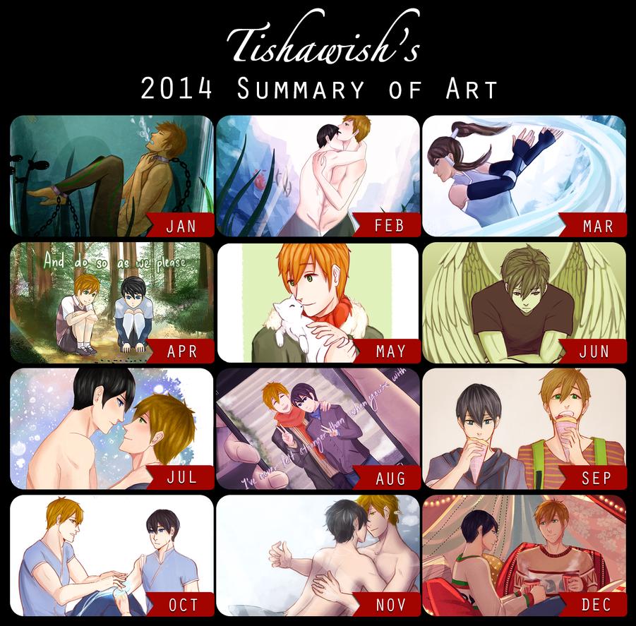 2014 Summary of Art by Tishawish