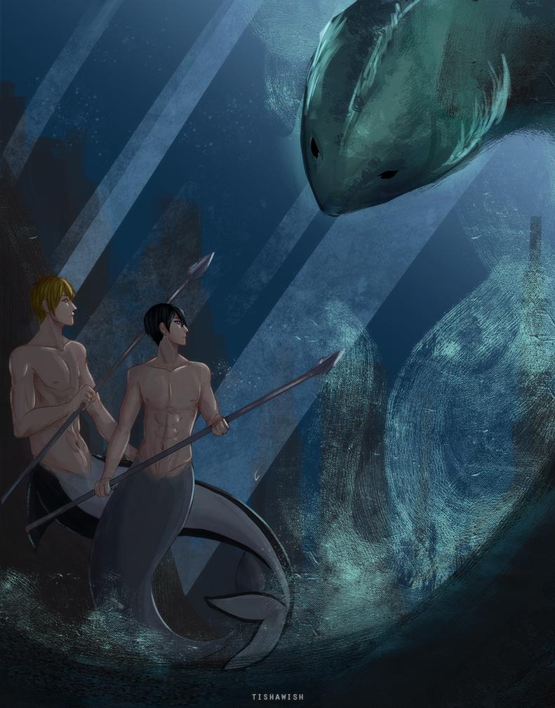 Free!: Aglow Undersea by Tishawish