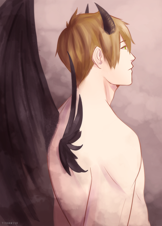 Free!: Demons Are But Fallen Angels by Tishawish