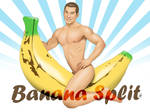 Sexy Asian Male Pinup - Banana Split