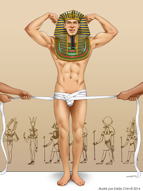 Male gay egyptian bondage aaron use to be a 2
