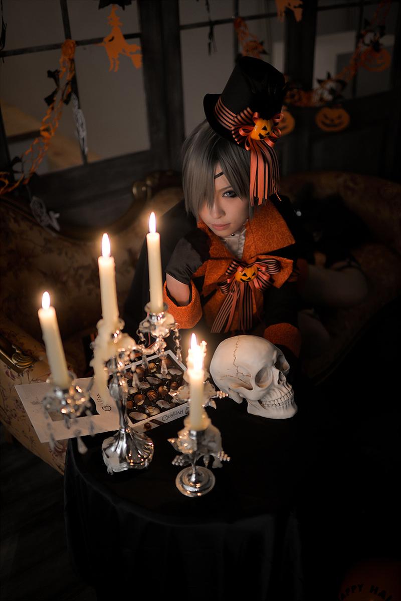 Kurositsuji - Ciel Phantomhive by miyoaldy