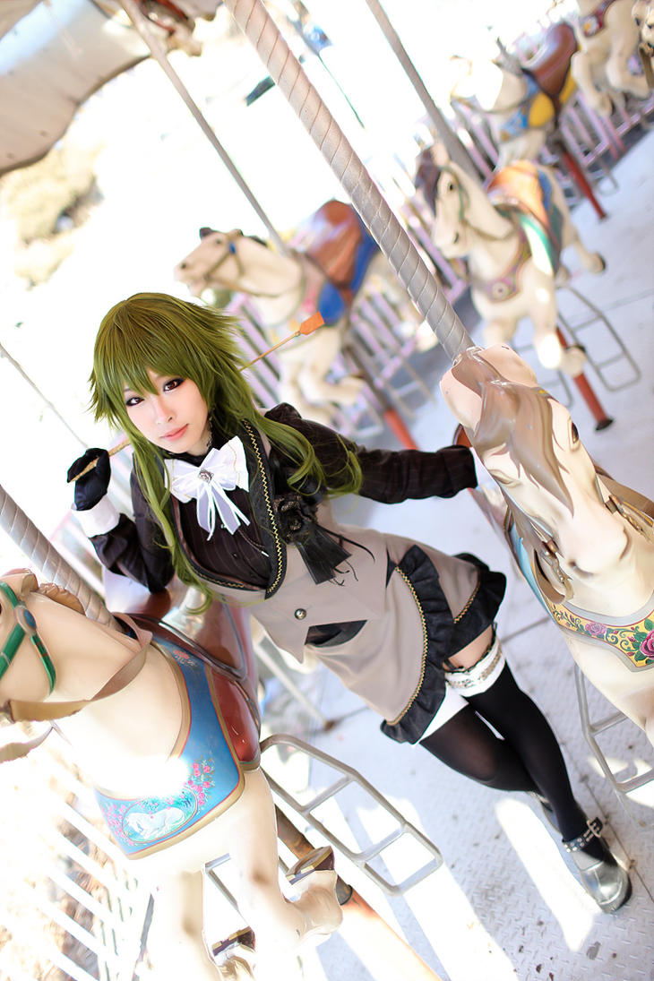Vocaloid : Deadline circus - Gumi by miyoaldy