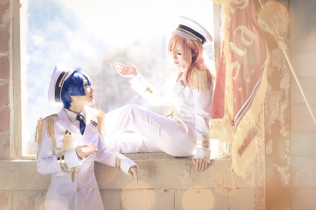 Utapri Shining all star - Jinguji Ren by miyoaldy