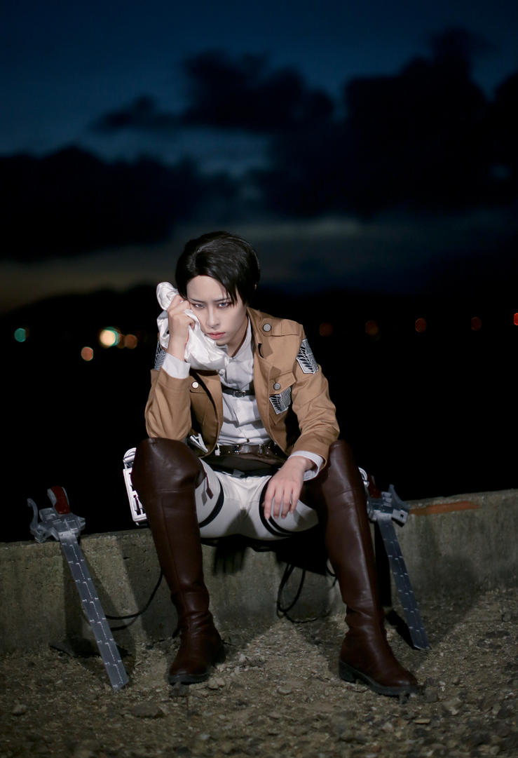 Attack on Titan - Levi by miyoaldy