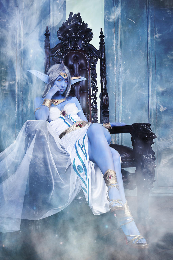World of Warcraft - Queen Azshara by miyoaldy