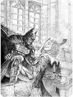 Batmanvsjoker 1 by chengxiangarts