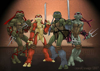 The Turtlettes by c0rkydawL