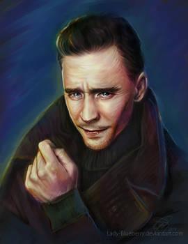tom hiddleston by Lady-Blueberry