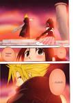 Cloud Aerith Kingdom Hearts 2
