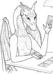 Tarot Reader by sumarra
