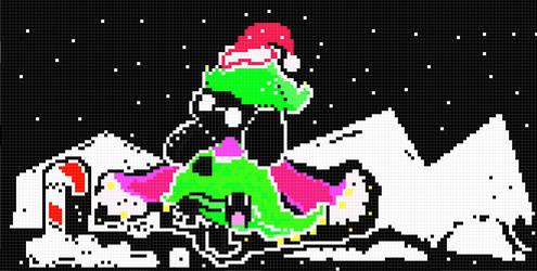 New Ralsei - 7th pixel art
