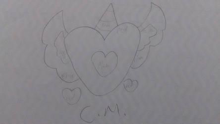 (Uncolored) My OC's cutie mark