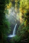 Metlako Falls Columbia River Gorge Oregon