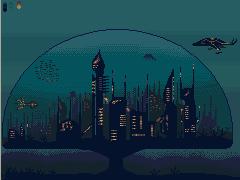 Underwater city by kfuchoin