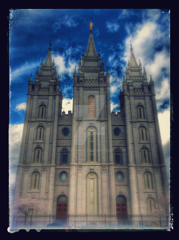 Salt Lake City LDS Temple by Zach-Bowie