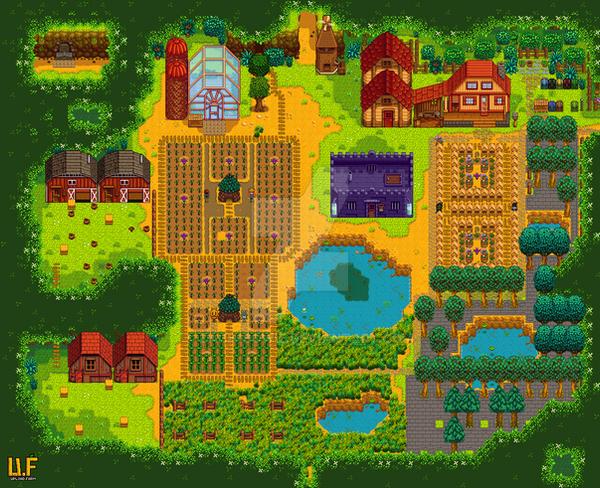 My Stardew Valley Farm by Zach-Bowie