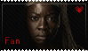 Michonne Fan by Dark-Cheshire-Cat