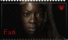 Michonne Fan by Dark-Cheshire-Cat