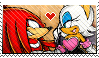 Knuckles and Rouge - Fan by Dark-Cheshire-Cat