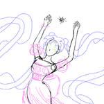 Princess Serenity With Crystal - WIP