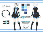 .:[UTAU] ~ Ito Emil Reference:. by Rina-Aka