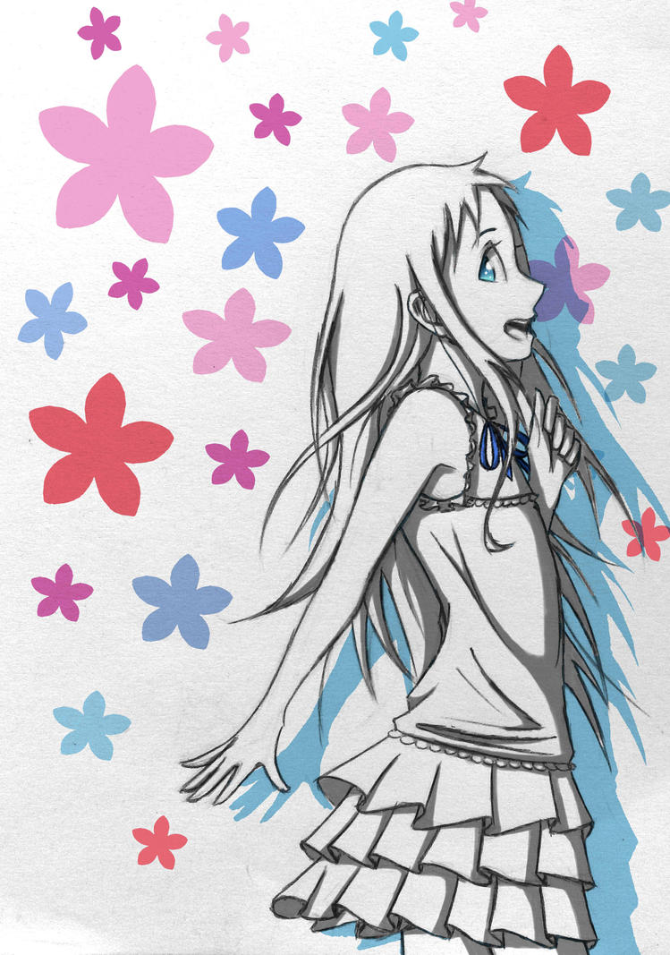Download Anime Anohana The Movie Menma By Glamist On Deviantart