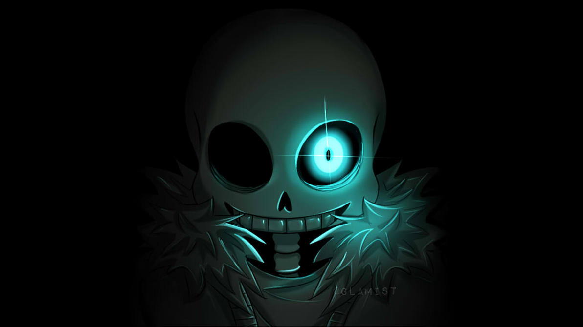 Undertale Sans - Wallpaper by Glamist
