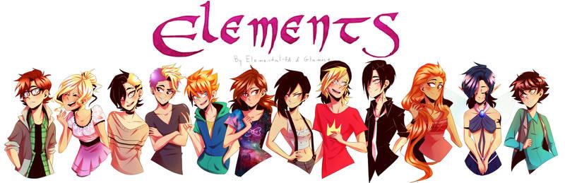 ELEMENTS Characters + speedpaint