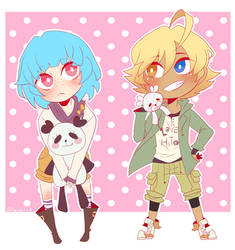 Commission | Maye and Shuu by Glamist