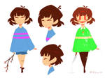 Undertale PMV - Frisk and Chara refs