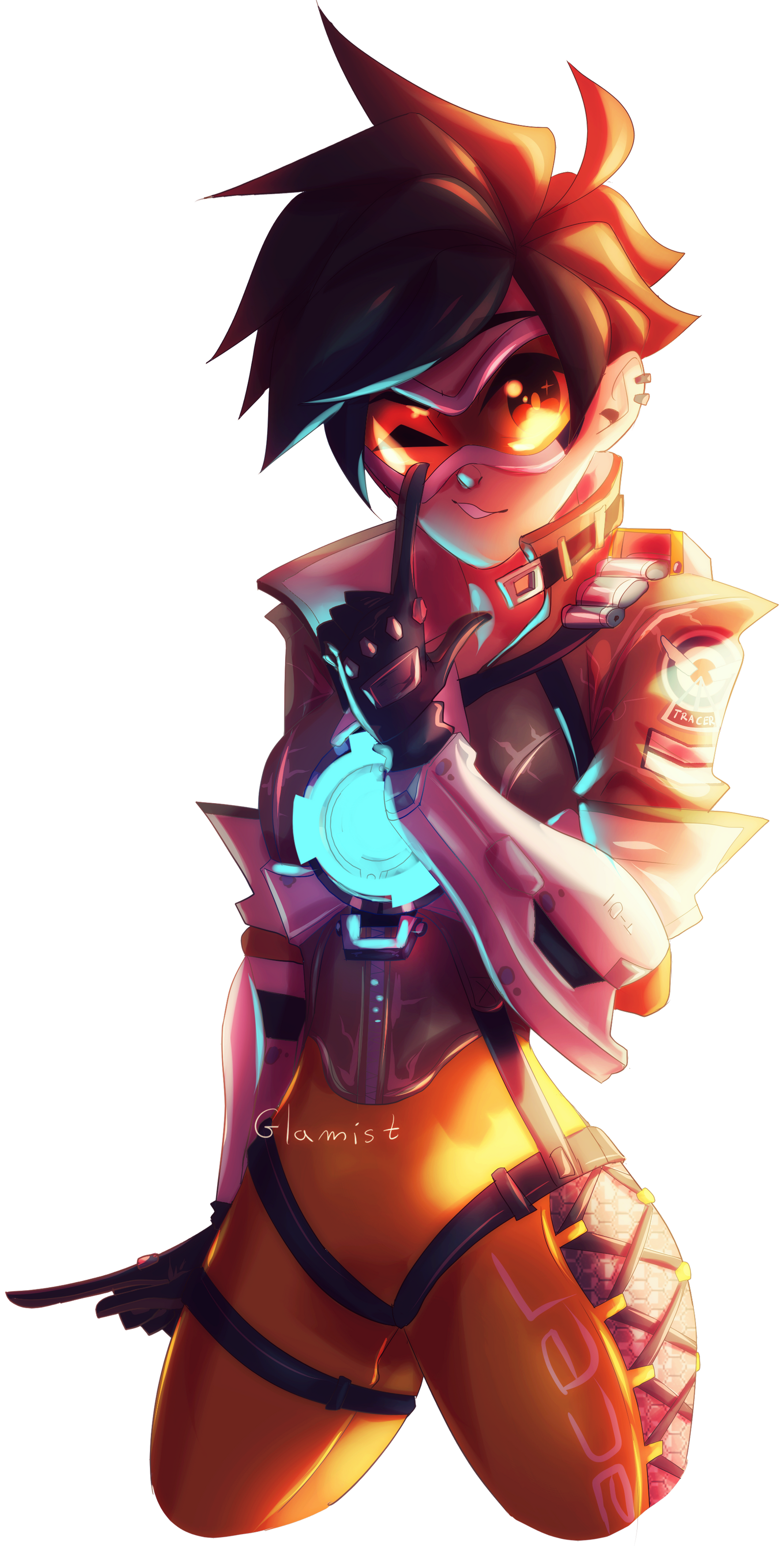 TRACER by Glamist on DeviantArt