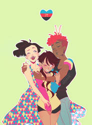 Poly/Pan Pride! by Glamist