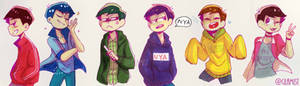 Old Matsus drawing