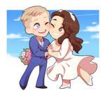 Phil and Kristin wedding fanart