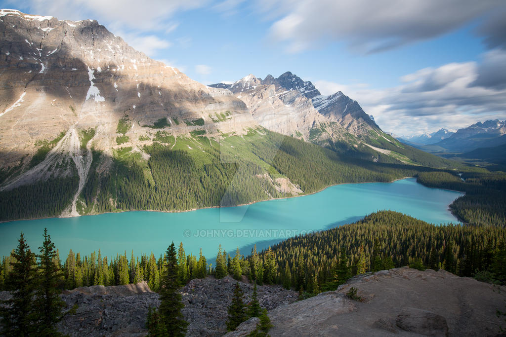 Peyto Lake by JohnyG