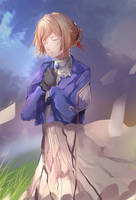 Violet Evergarden -Never forget- by yk93