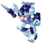 Transformers Sunstreaker (Police Car) Box Art