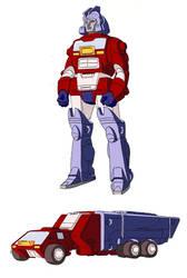 Transformers G1 Orion Pax (Fan Color Model)